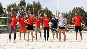 Plaj Voleybolu Milli Takımlarımız, Olimpiyat Elemeleri Hazırlıklarını Sürdürüyor