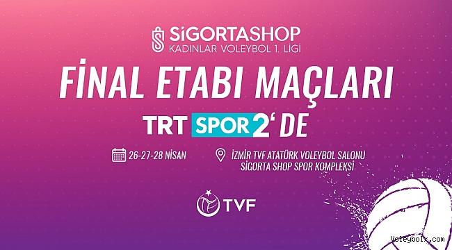 Sigorta Shop Kadınlar 1. Ligi Final Etabı'nın Heyecanı TRT SPOR 2'de