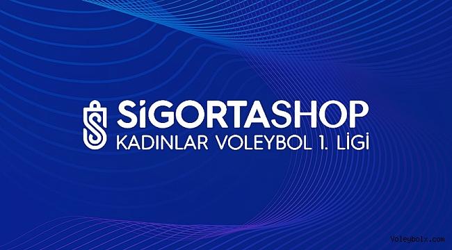 Sigorta Shop Kadınlar 1. Ligi final etabının maç programı belli oldu