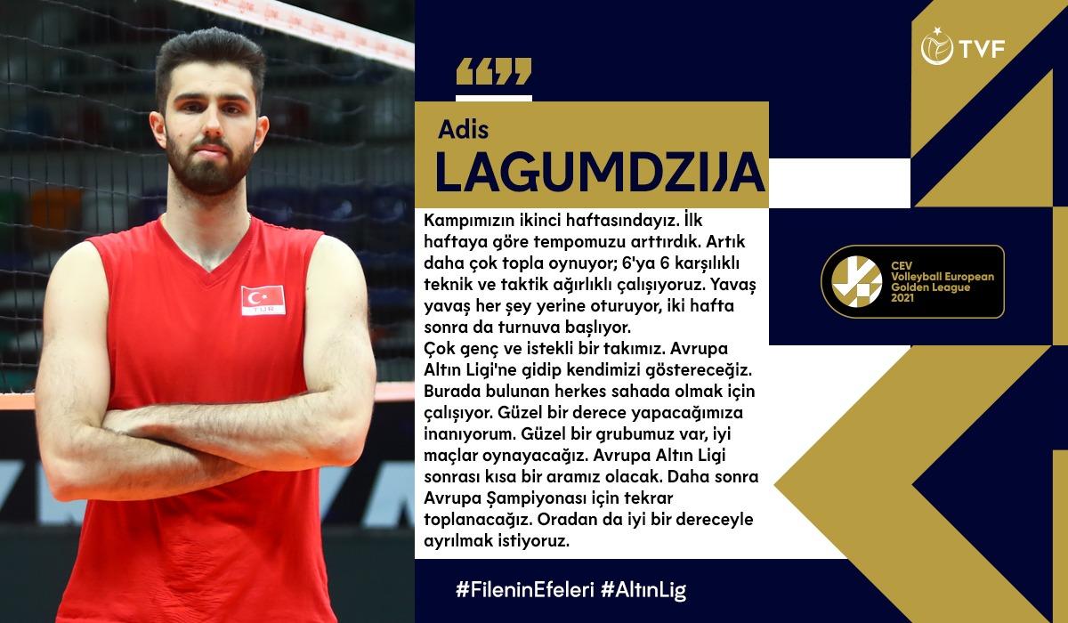 """Adis Lagumdzija: """"Avrupa Altın Ligi'ne gidip kendimizi göstereceğiz"""""""