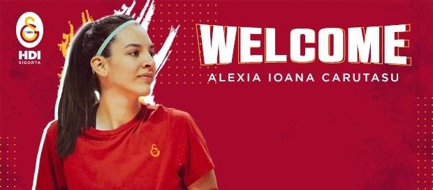 Alexia Ioana Carutasu, Galatasaray'da..