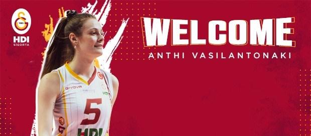Anthi Vasilantonaki, Galatasaray'da...
