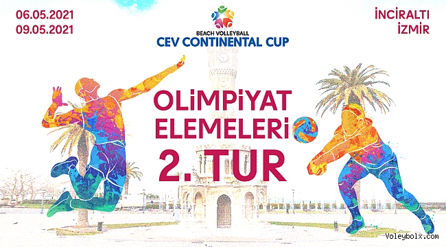 CEV Plaj Voleybolu Continental Cup 2. Turu'nda Heyecan Başlıyor