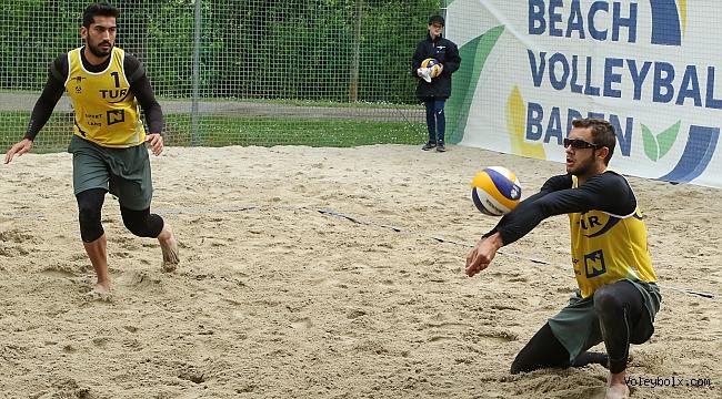 Özdemir/Güllük İkilisi, U22 Avrupa Şampiyonası'na Veda Etti