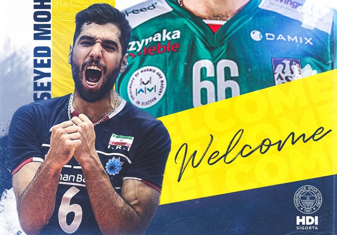 Seyed Mohammad Mousavi, Fenerbahçe HDI Sigorta'da..
