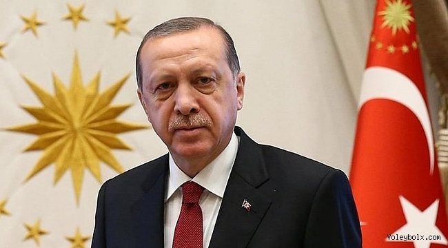 Cumhurbaşkanı Erdoğan'dan Filenin Efeleri'ne Kutlama