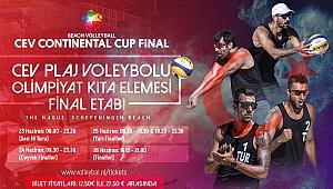 Erkek Plaj Voleybolu Milli Takımlarımız, Continental Cup Finalleri'nde Sahne Alıyor