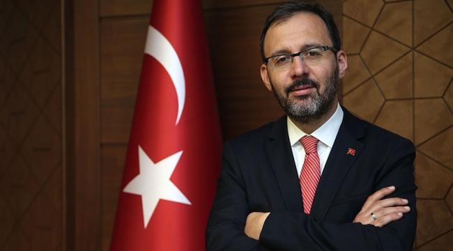 Gençlik ve Spor Bakanı Kasapoğlu'ndan Milli Takımımıza Kutlama