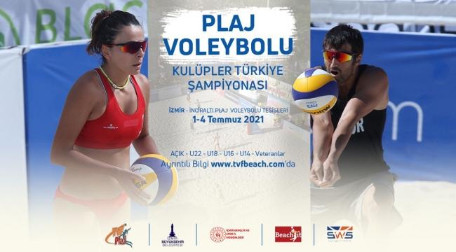 TVF Plaj Voleybolu Kulüpler Türkiye Şampiyonası Katılım Listeleri Belli Oldu