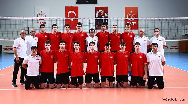 U17 Erkek Milli Takımımız, Avrupa Şampiyonası İçin Ankara'da Kampa Girdi