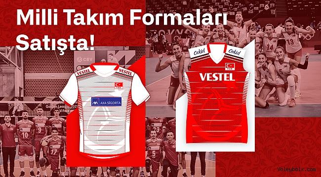 Milli Takım Formaları Satışta !