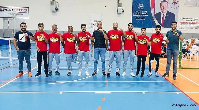 Oturarak Voleybol Türkiye Şampiyonası'nda anlamlı mesaj: Çocuk Felcine Son