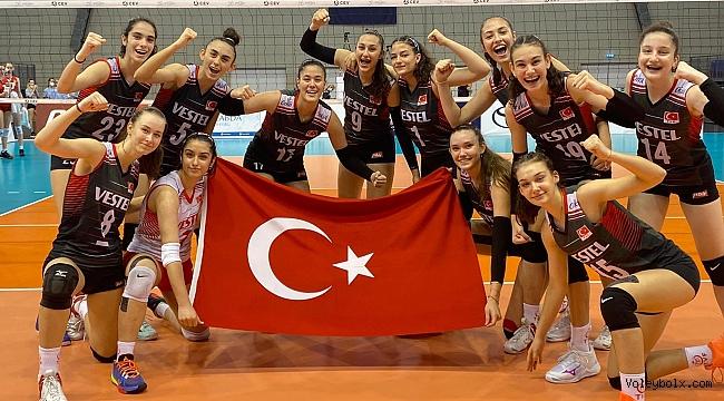 U16 Kız Milli Takımımız Avrupa Şampiyonası Yarı Finalinde