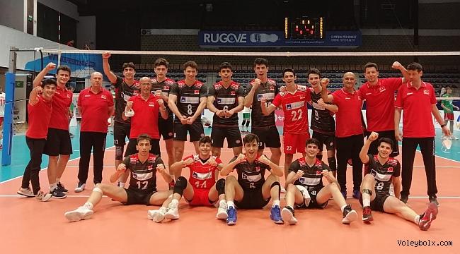 U18 Erkek Milli Takımımız, Balkan Şampiyonası'nda 2'de 2 Yaptı