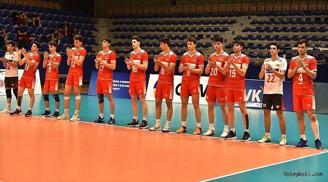 U18 Erkek Milli Takımımız, Bulgaristan'a 3-1 Mağlup Oldu