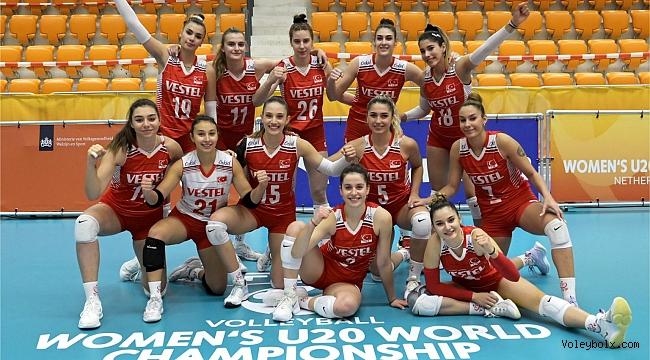 U20 Kız Milli Takımımız, Dünya Şampiyonası'nda 9./12.'lik Klasman Maçları Oynayacak