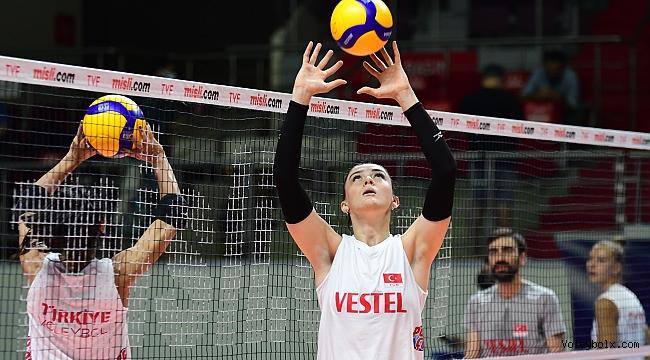 """Zehra Güneş: """"Olimpiyatlarda Türkiye'yi temsil edeceğimiz için çok mutlu ve gururluyum"""""""