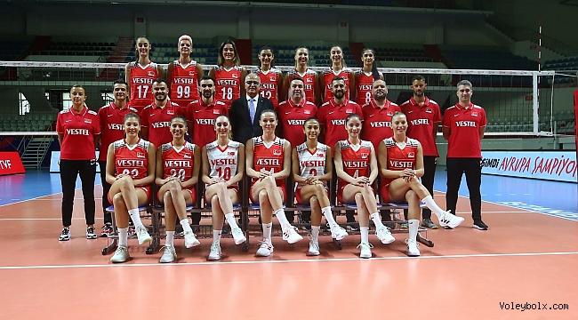 A Milli Kadın Voleybol Takımımız, Avrupa Şampiyonası'nda Sahne Alıyor