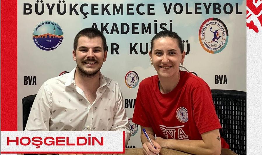 Ajlan Çölleroğlu, Büyükçekmece Voleybol Akademi'de