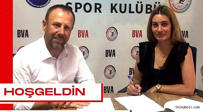 Çağla Doğan, Büyükçekmece Voleybol Akademi'de..