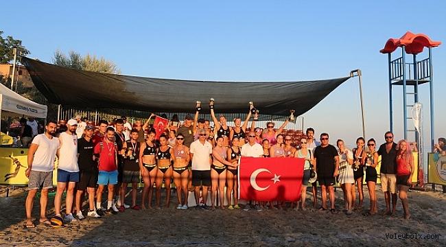 Marmara Beach Volley Tekirdağ'da fark yaratıyor