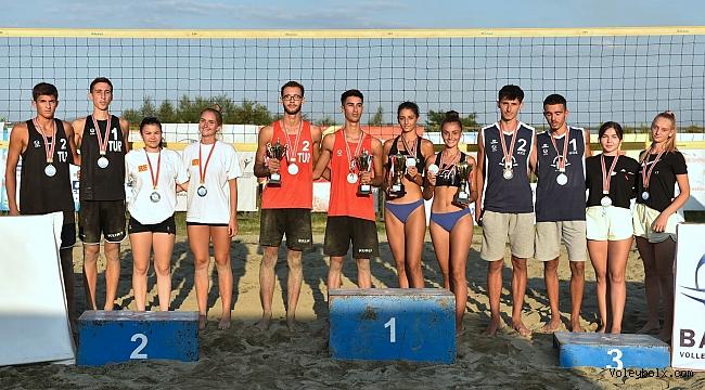 U20 Plaj Voleybolu Balkan Şampiyonası'nda Şampiyon Türkiye