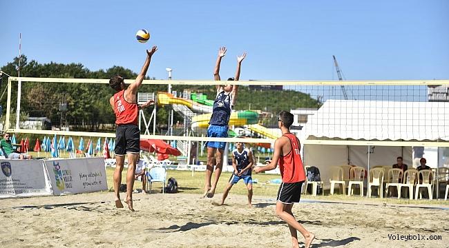 U20 Plaj Voleybolu Balkan Şampiyonası'nda Türk Fırtınası