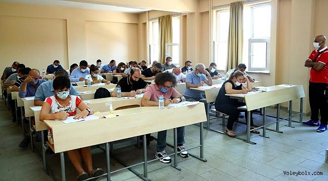 Ulusal ve Uluslararası Hakem Klasman ve Gözlemci Sınavı Ankara'da Yapıldı