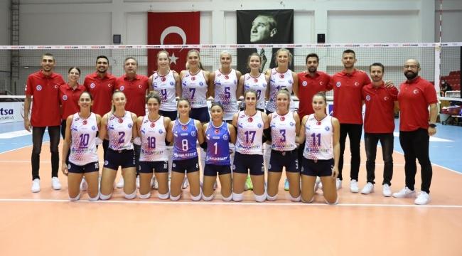 Aydın BBSK Balkan Kupası'na Galibiyetle Başladı