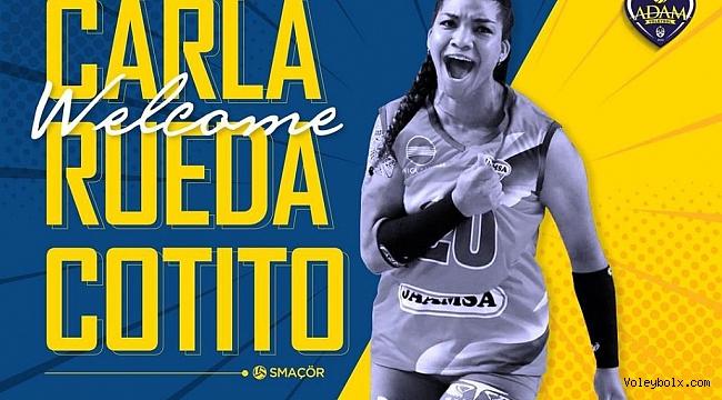 Carla Rueda Cotito, Adam Voleybol'da