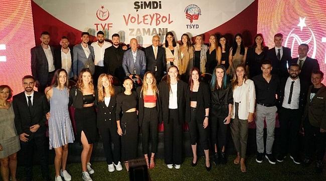 Filenin Efeleri ve Filenin Sultanları TSYD'de buluştu! 2022 müjdesi…