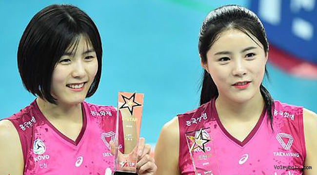 Koreli ünlü ikizler FIVB kararı ile resmen PAOK'ta!..