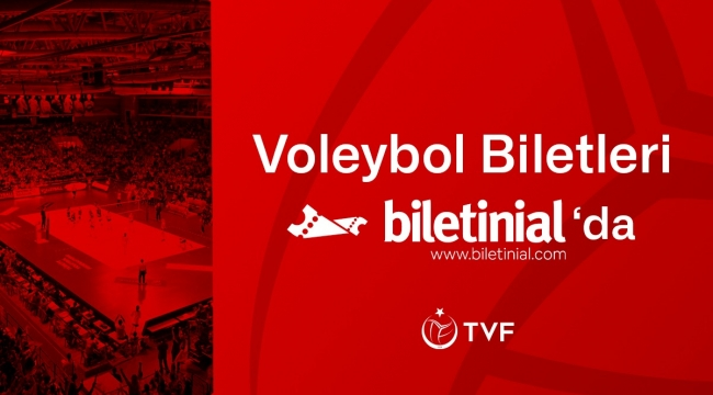 TVF'nin Yeni Biletleme Partneri Biletinial Oldu