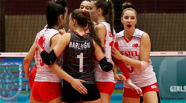 U18 Kız Milli Takımımız, Dünya Şampiyonası'nda Son 16'da