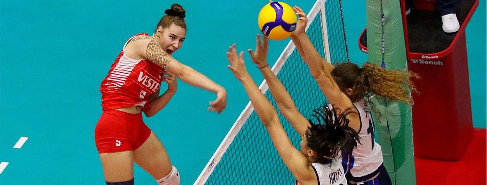 U18 Kız Milli Takımımız, İtalya'ya 3-0 Mağlup Oldu