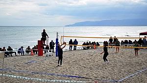 Marmara Beach Volley Değirmenaltı Kupası Başladı