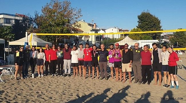 Marmara Beach Volley Değirmenaltı Kupası Sona Erdi