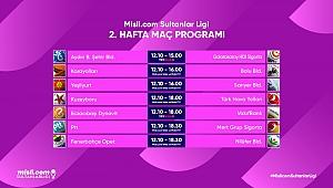 Misli.com Sultanlar Ligi'nde 2. Hafta Başlıyor