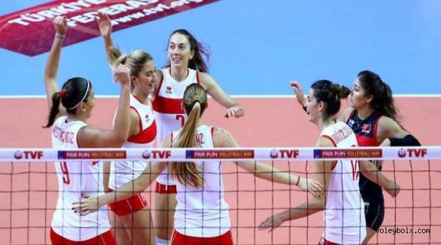 Avrupa Ligi'nde Gürcistan'ı 3-0 yendik, liderliği garantiledik