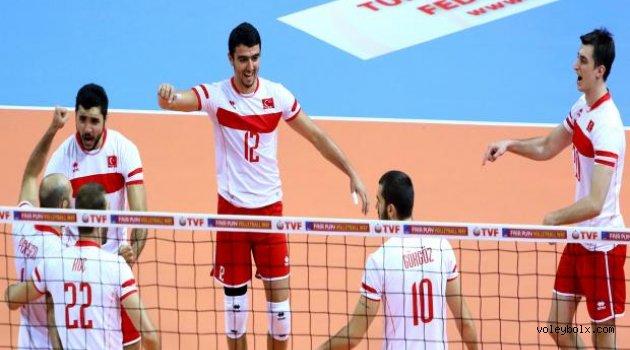 Avrupa Ligi'nde Hırvatistan'ı 3-0 yendik