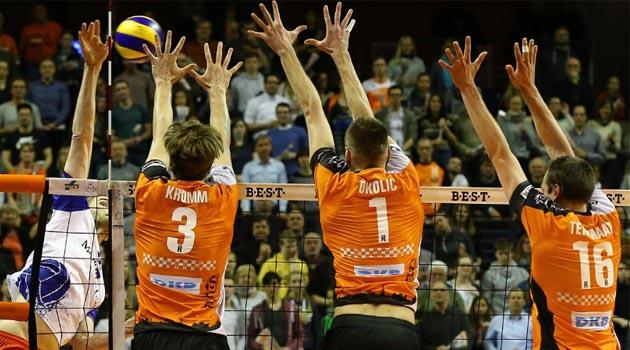 Berlin Volleys Zorlansada Son Finalist Oldu