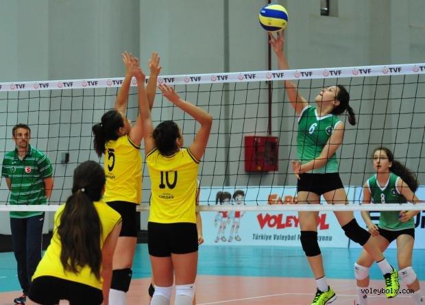 Festival Voleybol Minikler Türkiye Şampiyonası'nda 2'nci Gün Sona Erdi