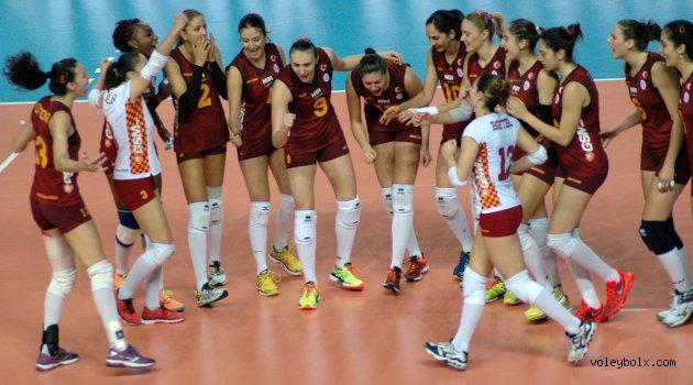 Galatasaray'dan, Eczacıbaşı Vitra puan yok: 3-1