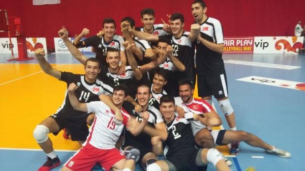 Genç Erkek Voleybol Milli Takımımız Balkan Şampiyonu Oldu