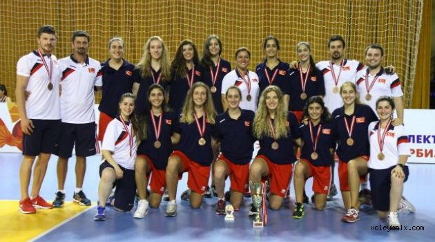 Genç Kızlar Balkan Şampiyonası'nı üçüncü sırada tamamladık