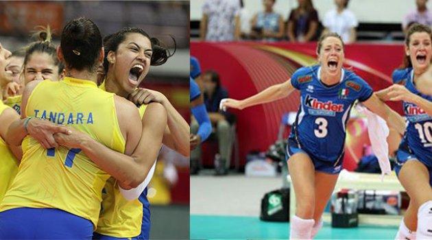 Grand Prix'de İtalya-Brezilya finali!...
