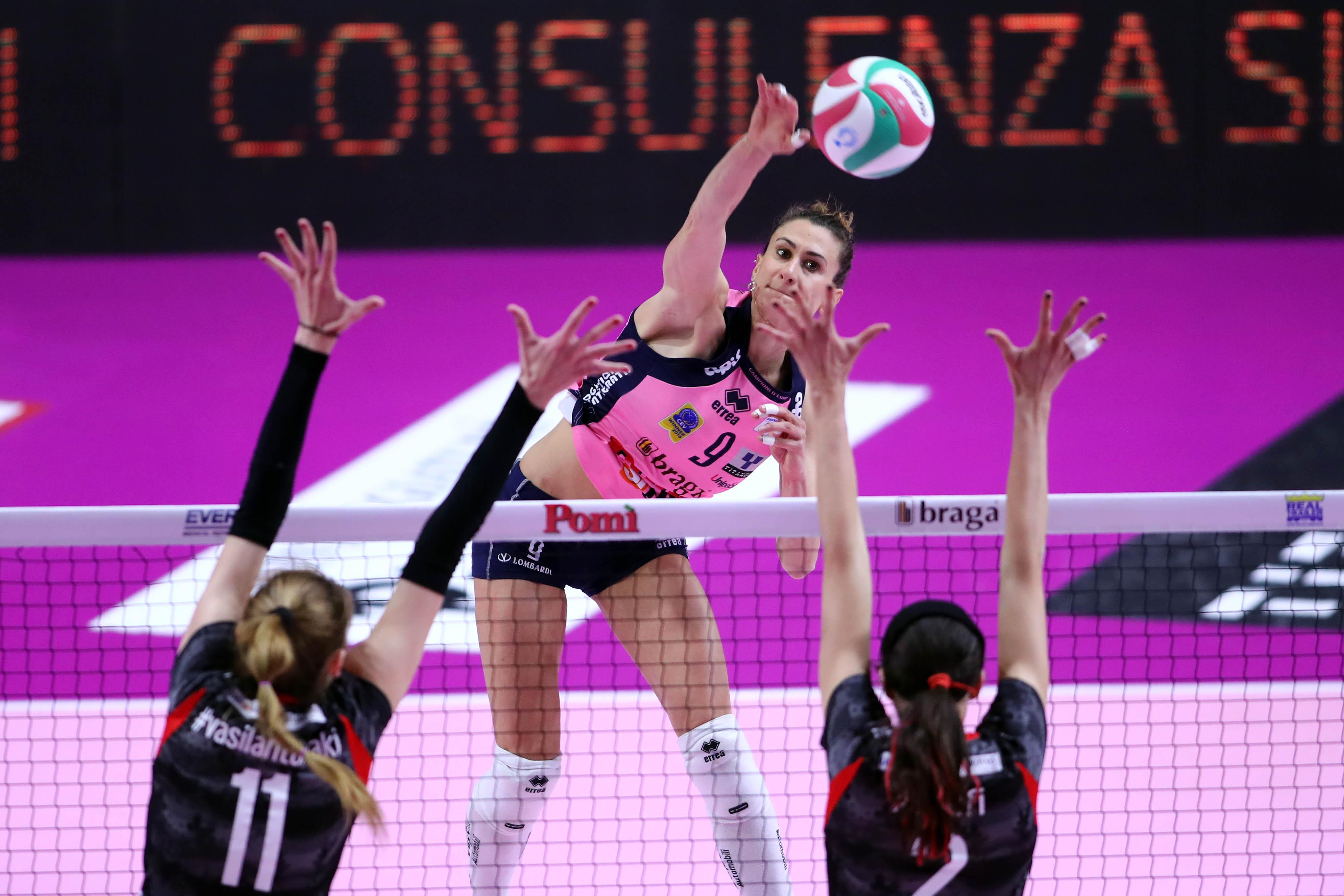 İtalya'da Son Yarı Finalist Pomi Casalmaggiore