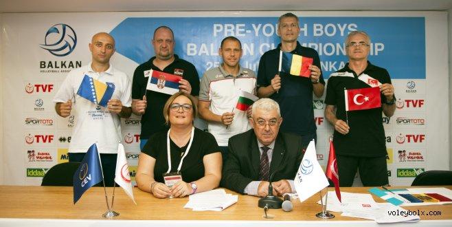 Küçük Erkekler Balkan Şampiyonası'nın teknik toplantısı yapıldı