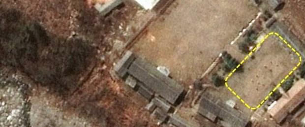 Kuzey Kore'nin nükleer deneme tesisinde voleybol oynandı