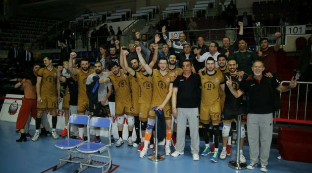 1. Lig Erkekler Kategorisi Final Etabı'nda İlk Maçlar Geride Kaldı